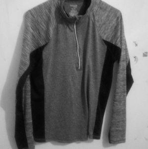 Black and grey jogging jacket